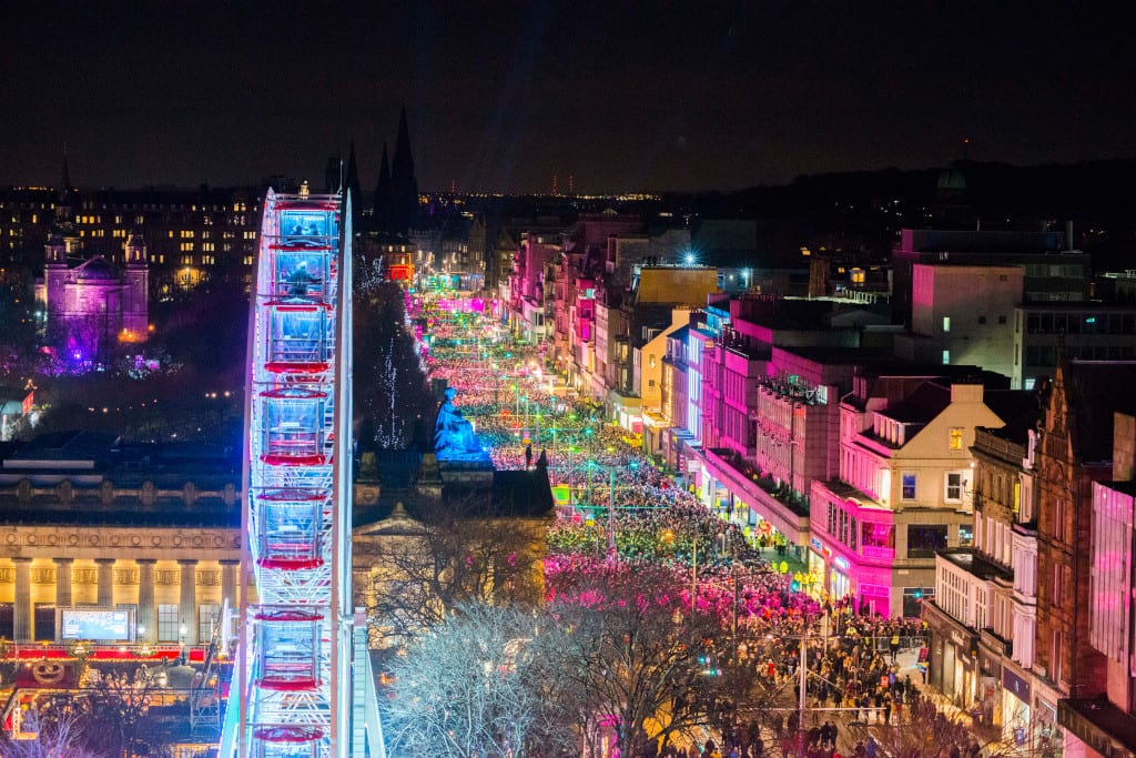 Edinburgh Hogmanay New Year's Eve 2020