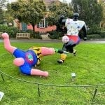things to do in lausanne Les Footballers by Niki de Saint-Phalle, Olympic Park Lausanne
