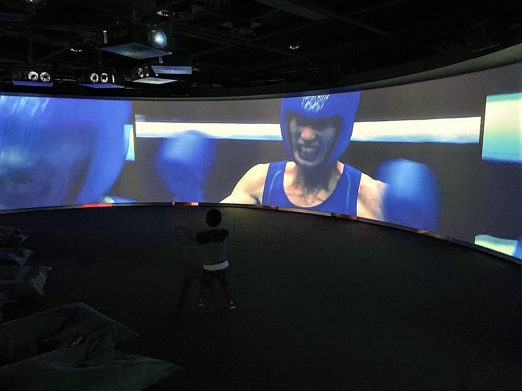 Inside the Race Olympic Museum Lausanne