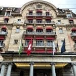 things to do in Lausanne Palace where Coco Channel lived