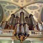 things to do in lausanne - The magnificent organ at St Francois Church