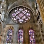 things to do in lausanne Magnificent rose inside Lausanne Cathedral