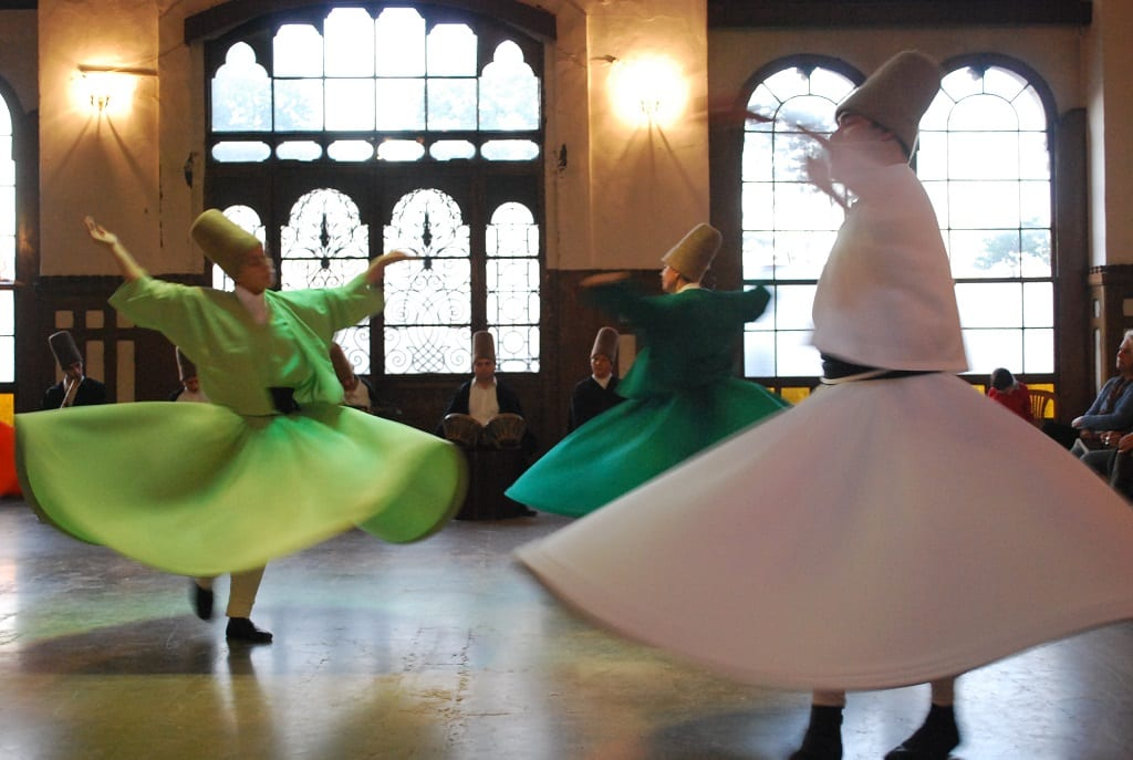 exotic festivals around the world: Konya Whirling Dervishes