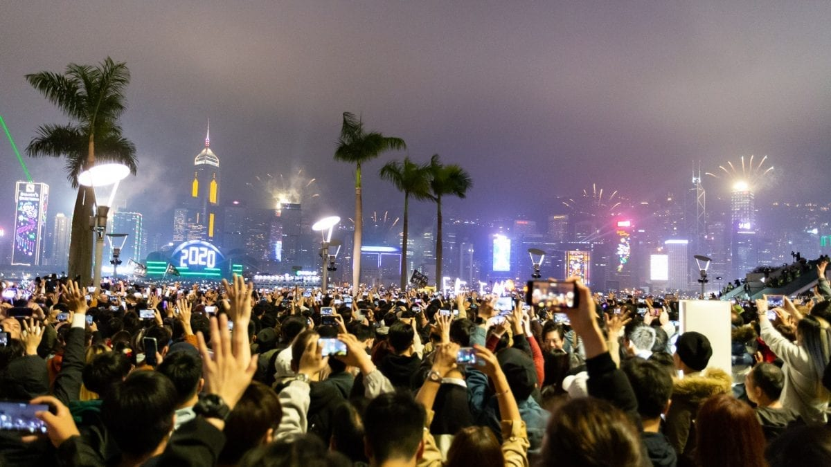 Hong Kong New Year Sees Continued Protests
