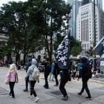Hong Kong New Year's Day Protest March