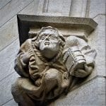One of the carvings on the City Hall, © Mark Bibby Jackson