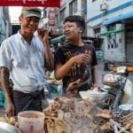 Street food in Mandalay, Myanmar