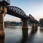 The Bridge Over the River Kwai, Kanchanaburi Thailand
