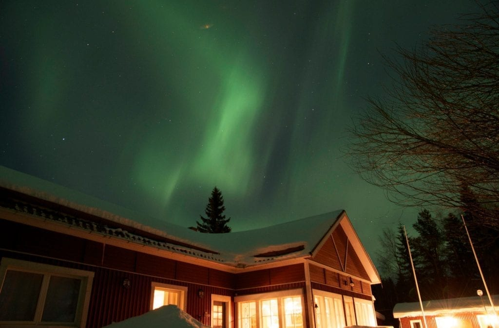 See the Stars in Swedish Lapland