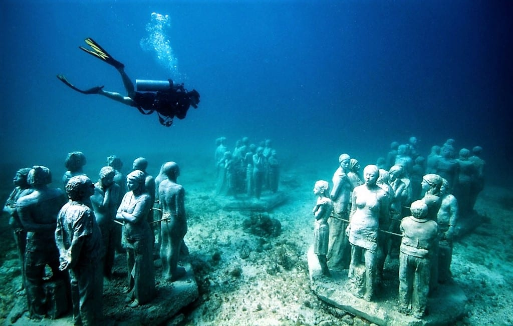 Four Underwater Museums to Open in Greece