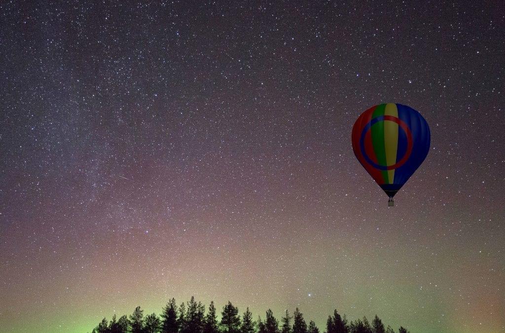 Aurora Hot Air Ballooning and Stargazing