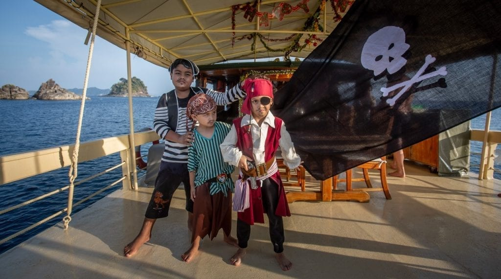 Pirates have played a strong role in the history of the Mergui Archipelago