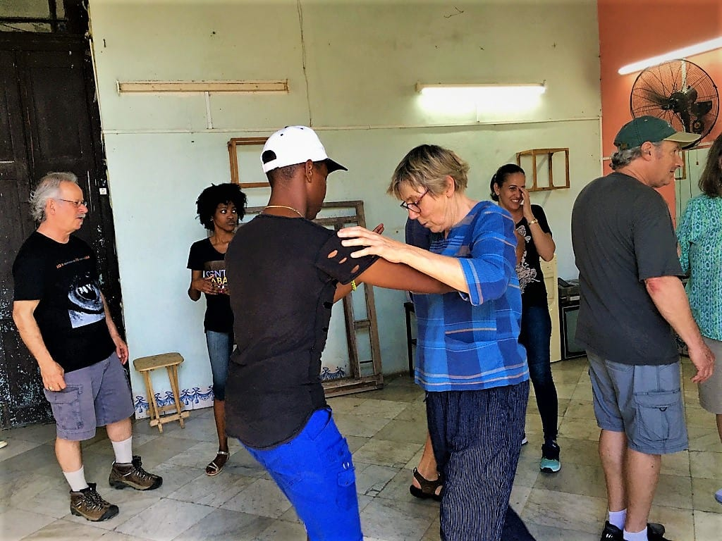Cuba dance