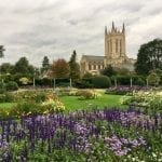 Abbey Gardens and St Edmundsbury Cathedral (credit Sue Warren)