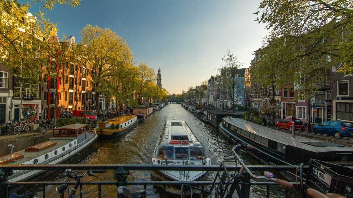 Flight-Free Low-Carbon Getaway to Amsterdam