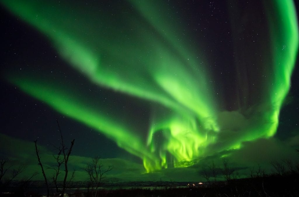 See Virtual Lights Over Lapland