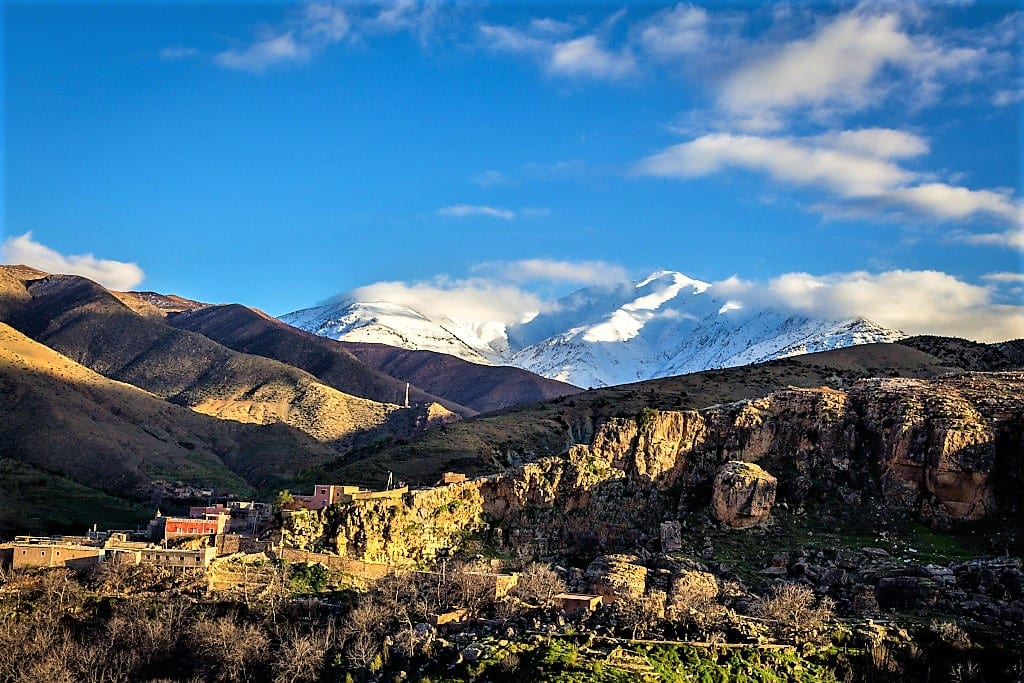Hotel Capaldi is set in the spectacular High Atlas, Morocco