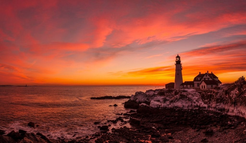 Portland Head Light_Cape Elizabeth Maine_Credit Cynthia Farr Weinfield_Maine Office of Tourism