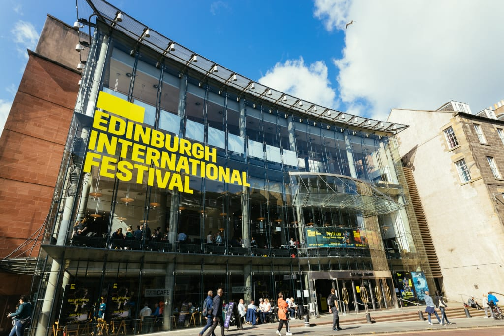Festival Theatre Edinburgh During International Festival 2019 © Ryan Buchanan