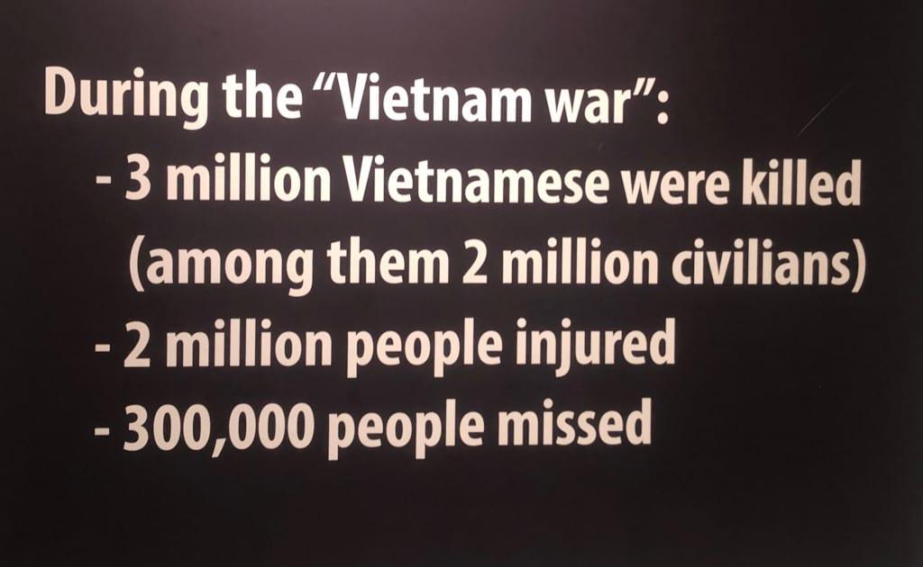 Grim ... the Vietnamese death toll