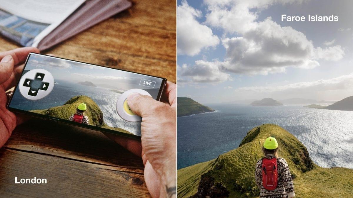 Virtual Control of a Faroe Islander