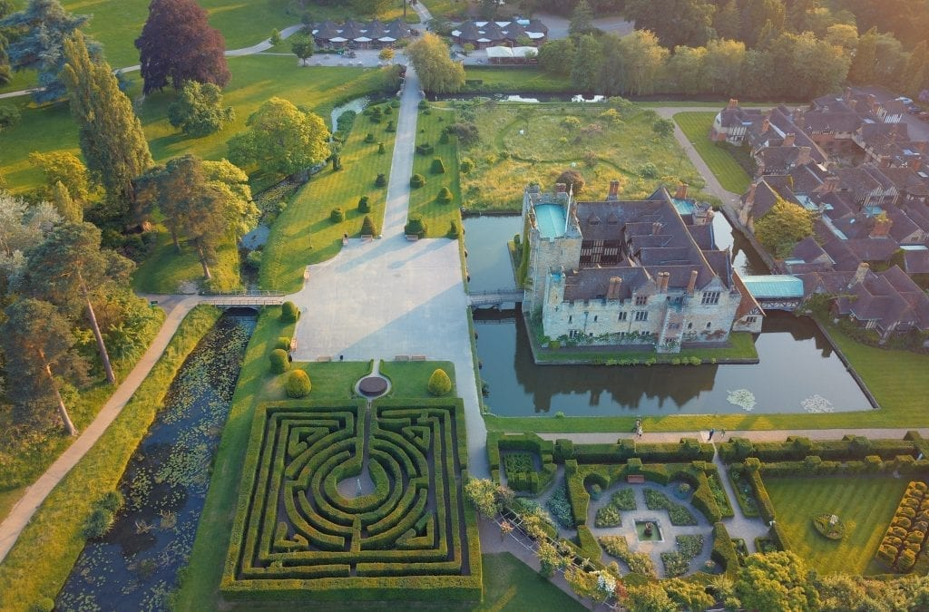 Accommodation at Hever Castle Reopens 4 July