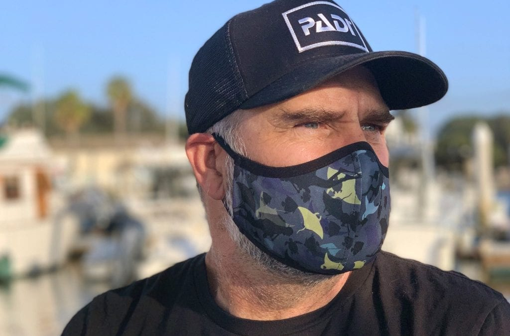 PADI Recycled Face Masks to Save Oceans