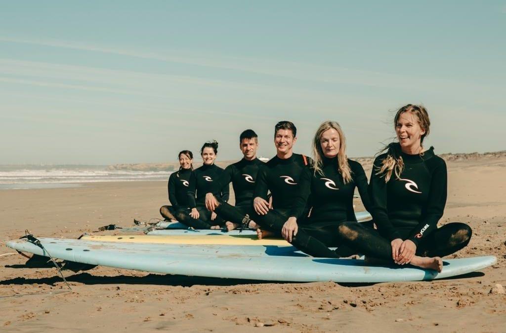 Surfing and Kitesurfing in Essaouira, Morroco