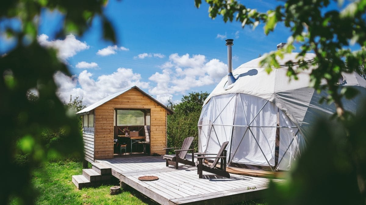 Luxe Fforest Glamping in Wales