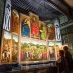 The Ghent Altarpiece on Display at Ghent Cathedral