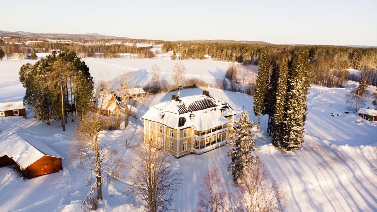 Stay at a Historical Swedish Manor