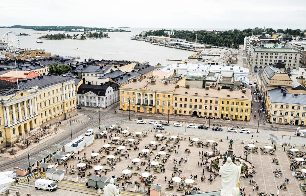 Helsinki Turns Square into Culinary Oasis