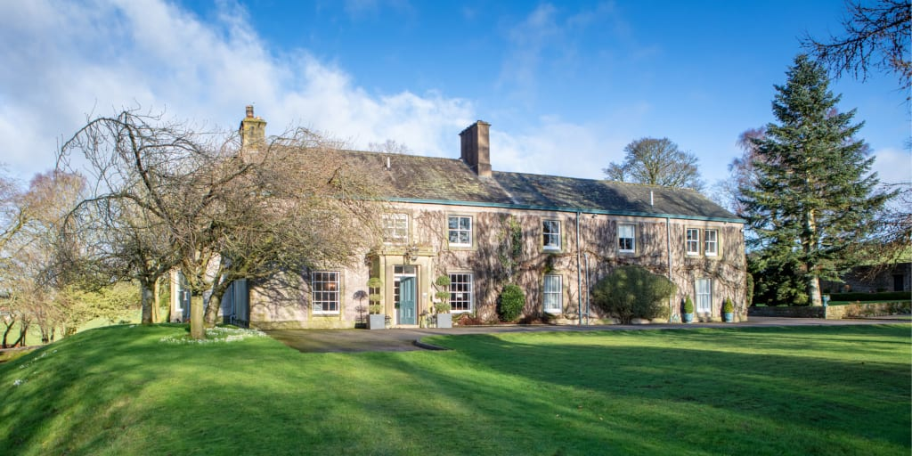 Restored Farlam Hall, Cumbria Reopens 31 July