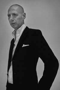 Portrait of Nick Knight. Image (c) Britt Lloyd