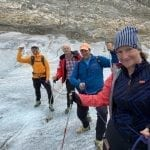 Our Aletsch Glacier explorers
