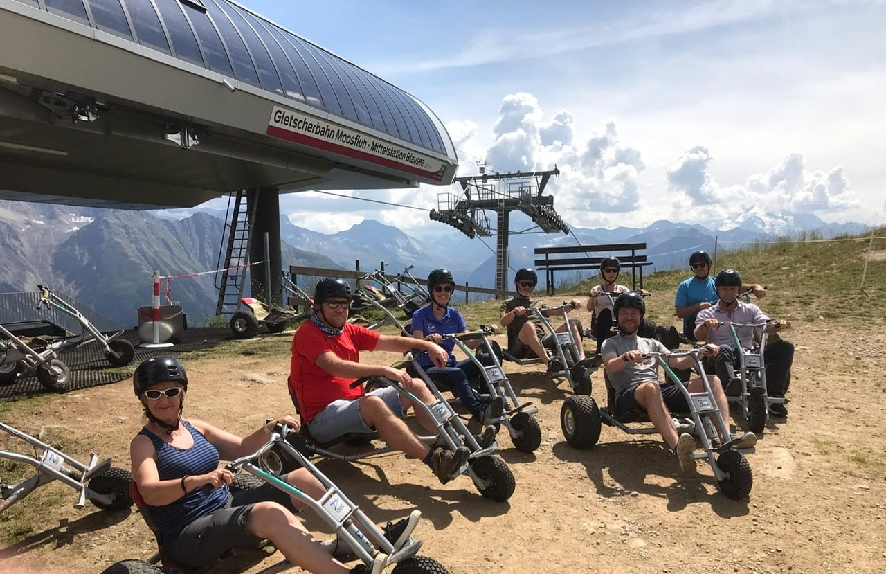 Karting in the Alps