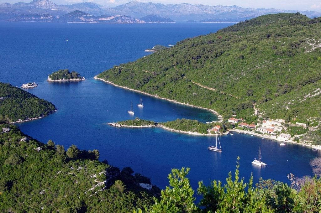 uk travel ban Mljet, Croatia - remote European islands