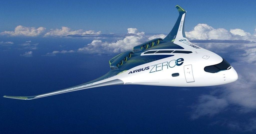 Airbus hydrogen plane zero-emission