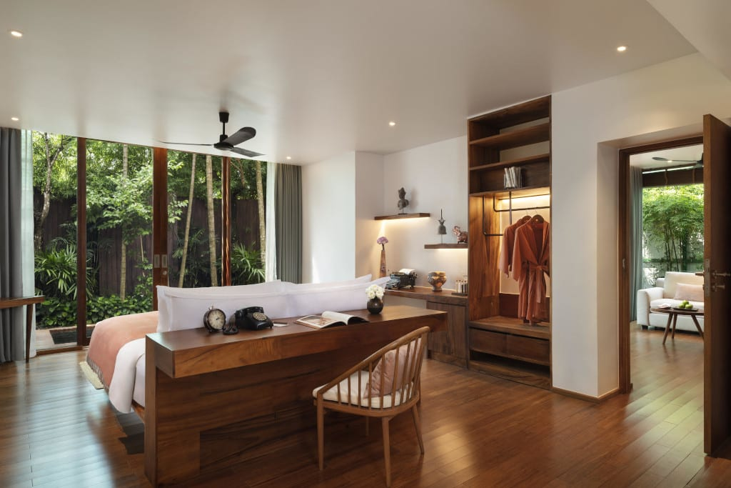 FCC Angkor by Avani - Garden Suite Bedroom 2 (1)