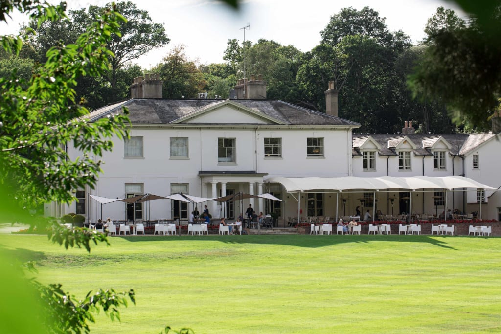 Kesgrave Hall hotel is set in the most wonderful gardens
