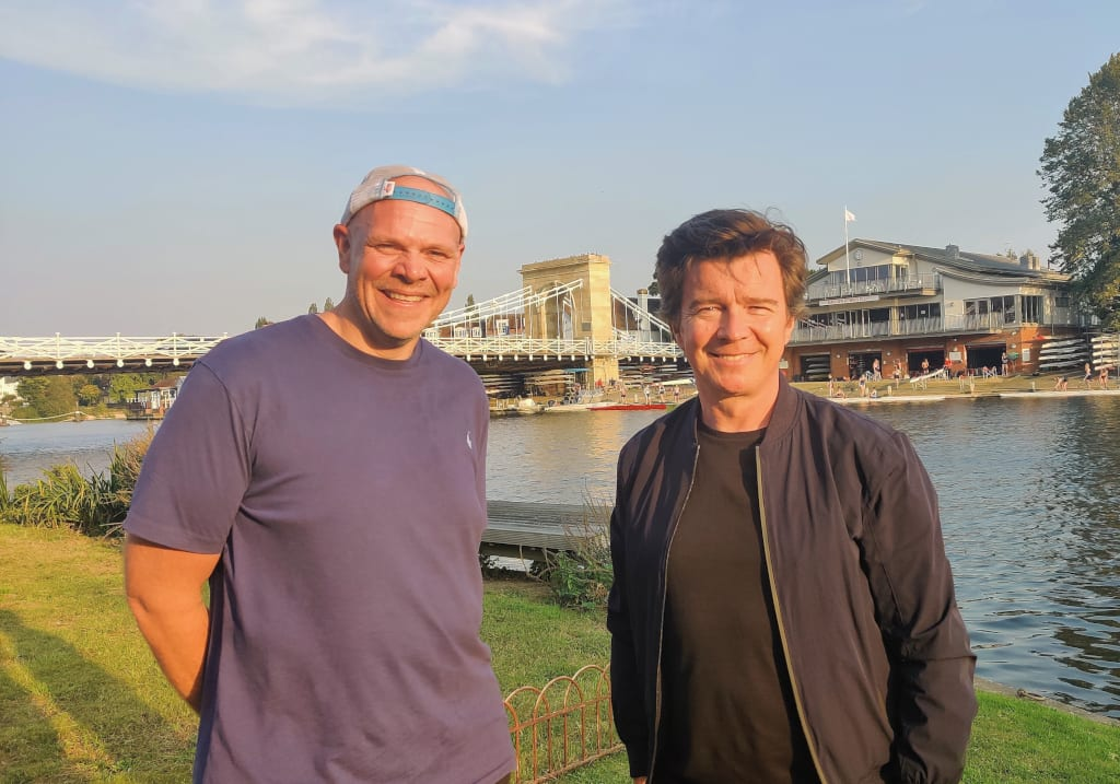 Picnic in the Park Tom Kerridge Rick Astley