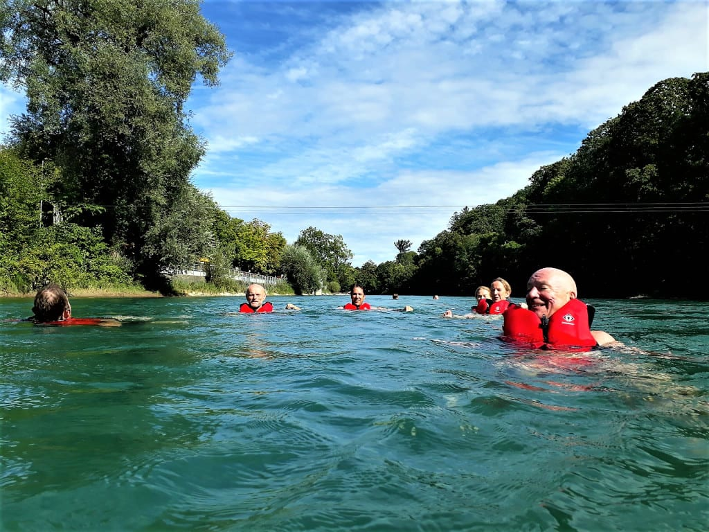 Wild Swimming in the Aare