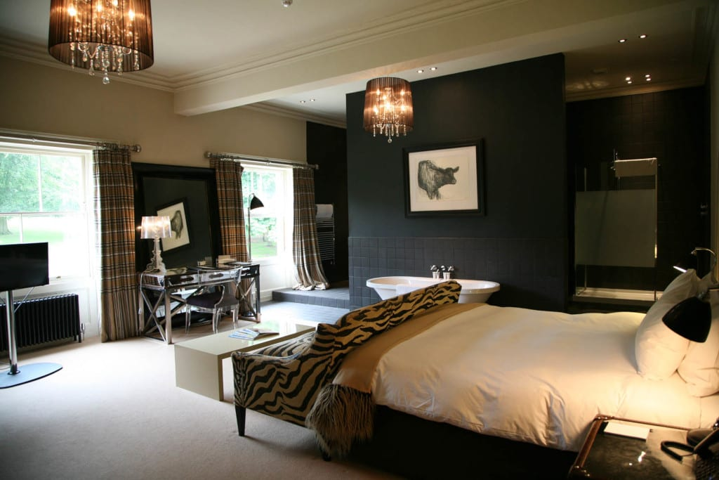 One of the contermporary and elegant rooms at Kesgrave Hall