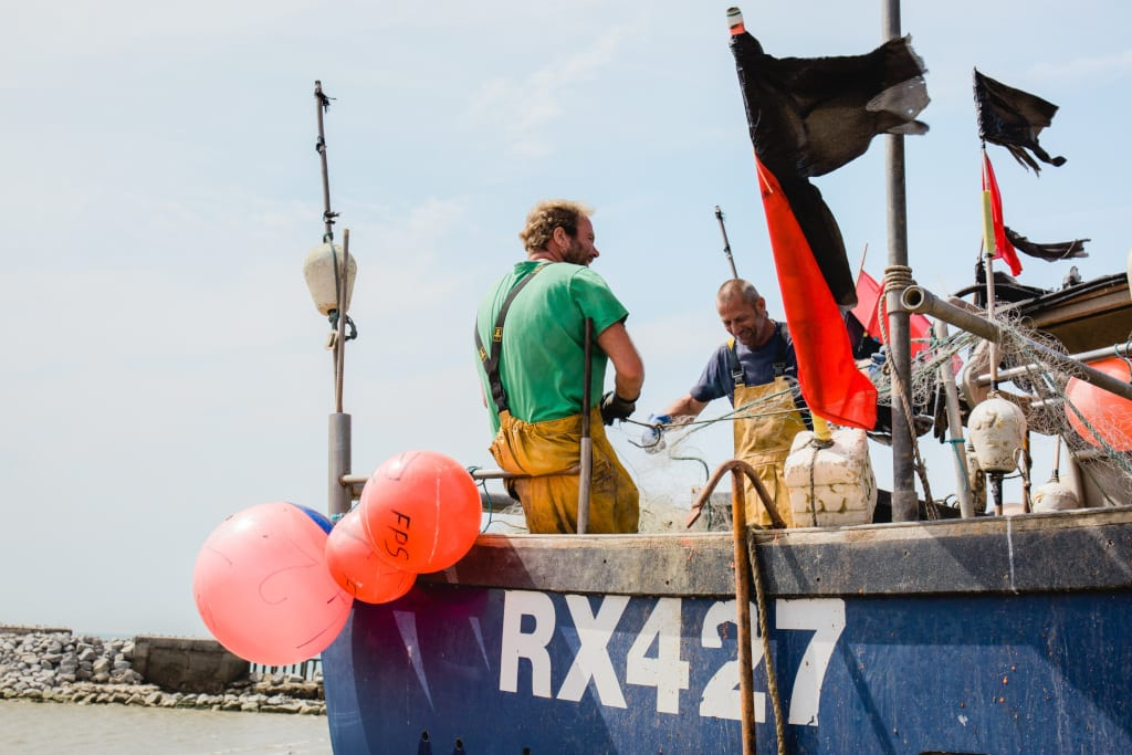 Hastings stade has the largest beach-launched fishing fleet in Europe