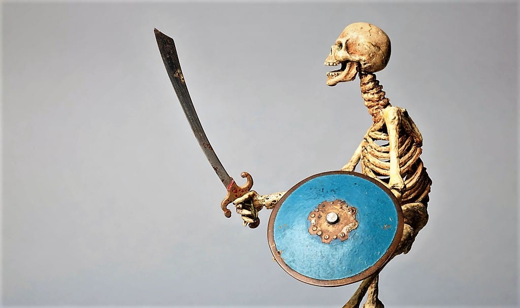 Model of Skeleton from Jason and the Argonauts