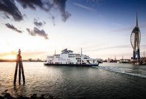 Isle of Wight ferry Wightlink