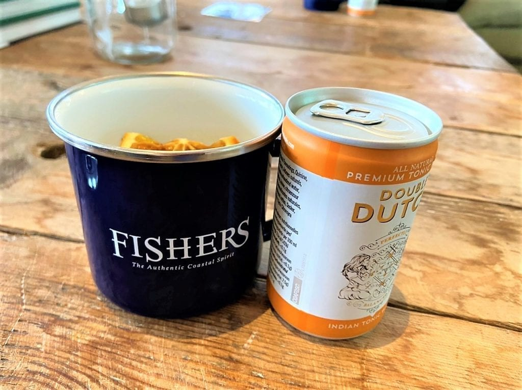 Fishers tin and tonic