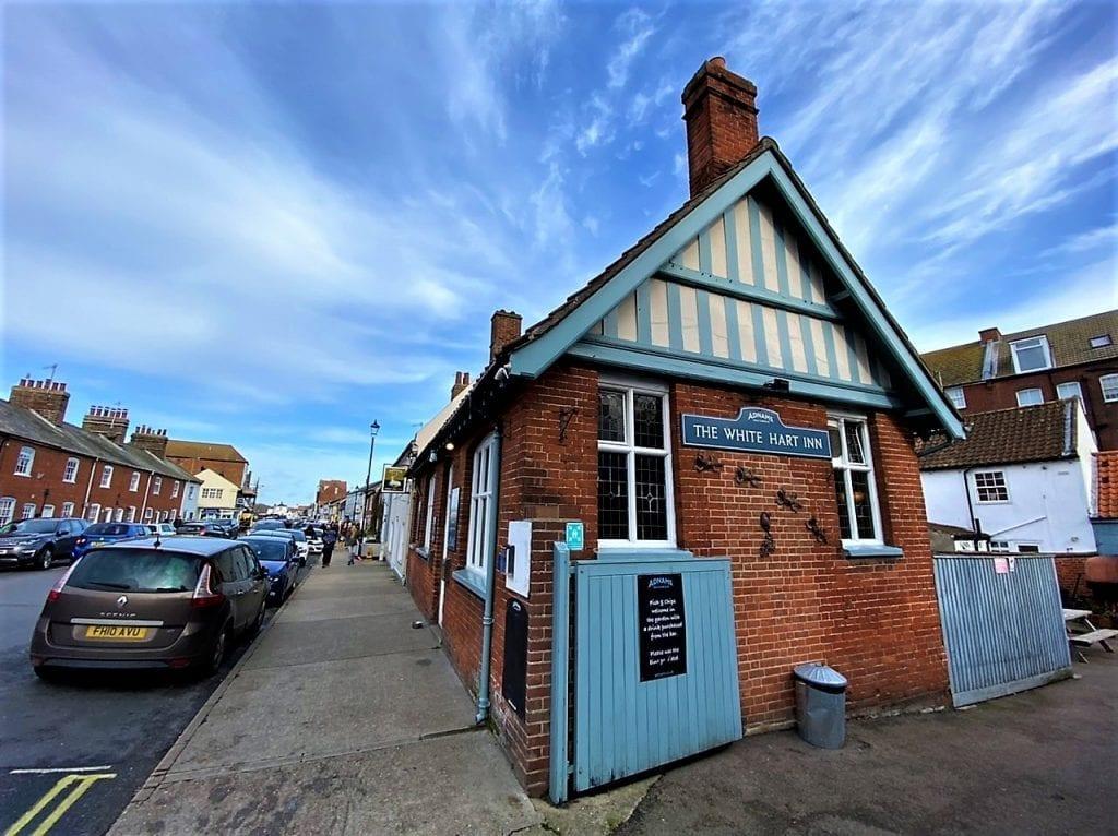 White Hart Aldeburgh Suffolk, a true local