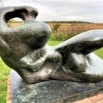 Henry Moore sculpture at Snape Maltings