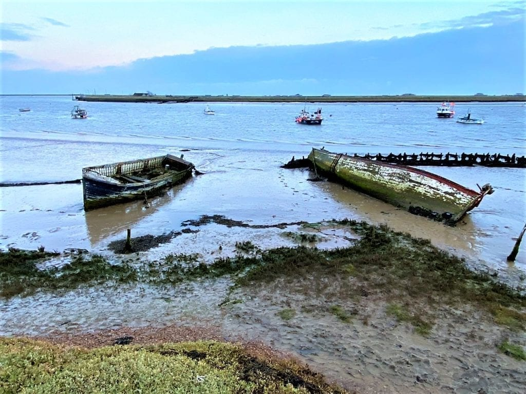The estuary at Orford Quay